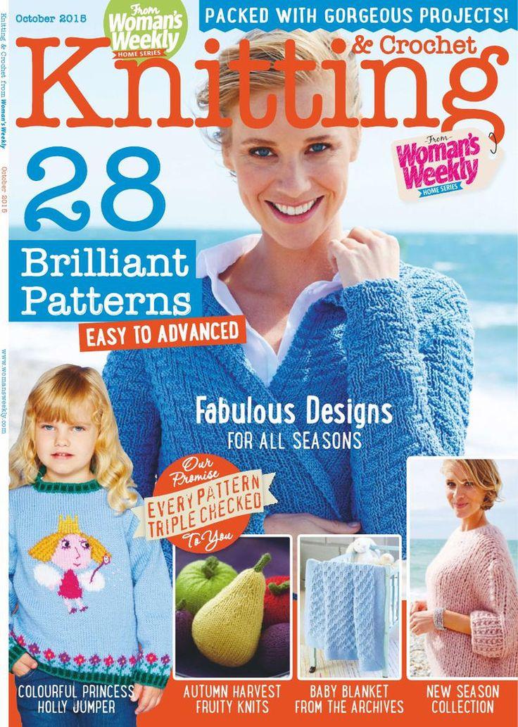 Knitting Crochet October 2015 - 轻描淡写 - 轻描淡写