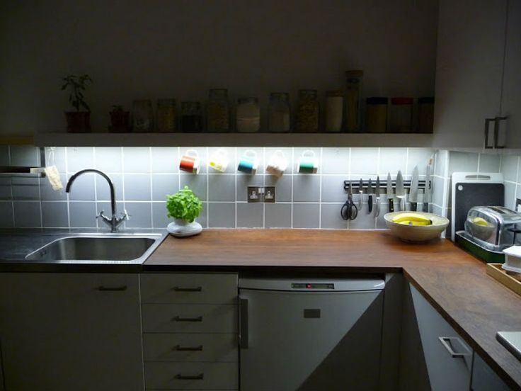 Best 25 under cupboard led lighting ideas on pinterest best 20 big ideas for small kitchens aloadofball Image collections