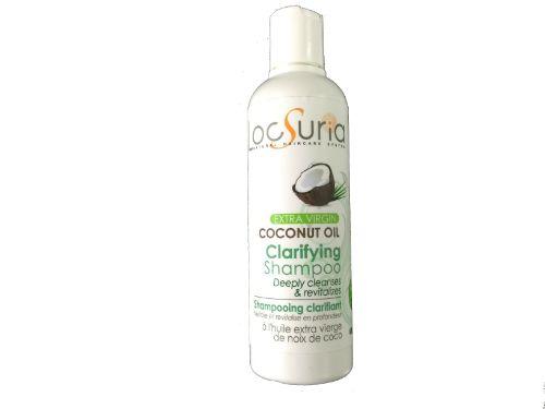 Coconut Oil Clarifying Shampoo Vegan friendly -for all hair types-
