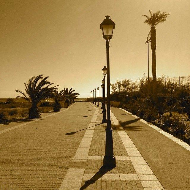Seafront. Caleta de Fuste, Fuerteventura.