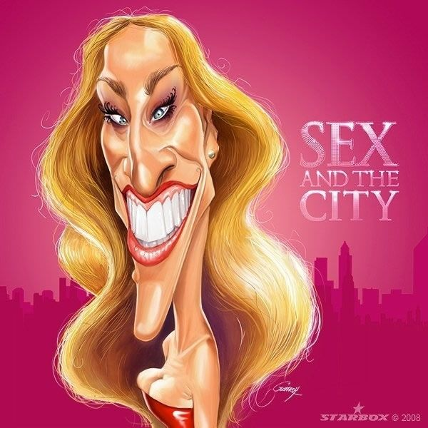 15 Celebrity Caricatures That Will Have You In Histerics