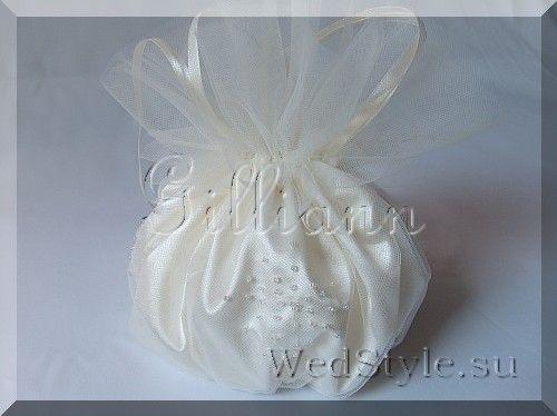 Свадебная сумочка Gilliann Конфетка BAG280 #weddingbag #weddingclutch