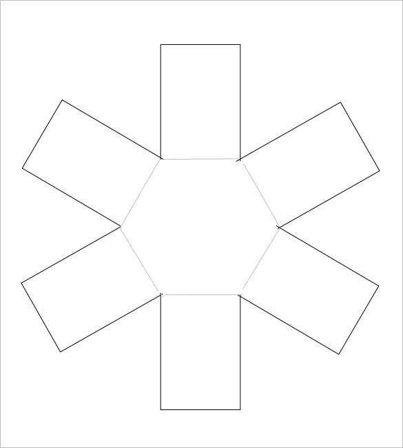 Octagon Exploding Box Template