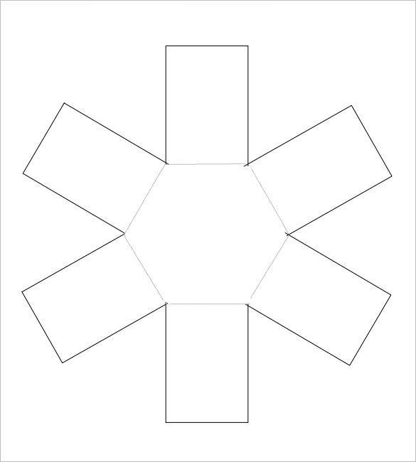 Contemporary Explosion Box Template Ornament - Resume Ideas