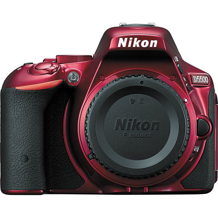 Nikon D5500 DSLR Camera (Body Only, Red) I'm a Cannon fan but this is nice.