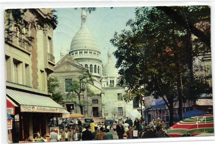 urbitrend-collectables - 1 carte postale France DEP 75 Paris La Place Du Terire dated 1960, €1.15