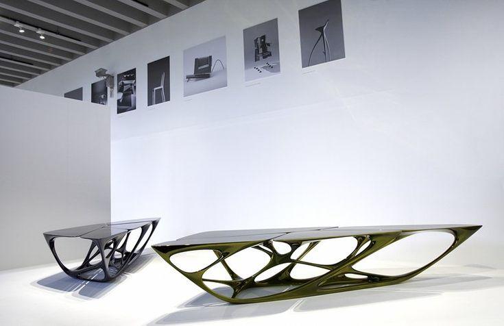 Tavolo Mesa, Milan, 2008 - Zaha Hadid Architects, Zaha Hadid