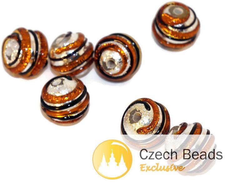 ✔ What's Hot Today: Gold Black Silver Grace Lampwork Beads Pair Czech Handmade Glass Beads SRA Artisan Lampwork Bead Set Solid Silver Round Striped 10mm 2pc https://czechbeadsexclusive.com/product/gold-black-silver-grace-lampwork-beads-pair-czech-handmade-glass-beads-sra-artisan-lampwork-bead-set-solid-silver-round-striped-8mm-2pc/?utm_source=PN&utm_medium=czechbeads&utm_campaign=SNAP #CzechBeadsExclusive #czechbeads #glassbeads #bead #beaded #beading #beadedjewelry #handma