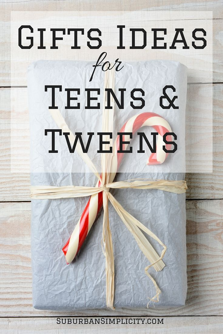 A great resource for Christmas stocking stuffer and gift ideas for teens and tweens. They can be hard to buy for but this list will make your job easy!
