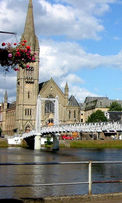 Inverness, Scotland. I loved this place. There was so much to see, and the people were so welcoming and kind.