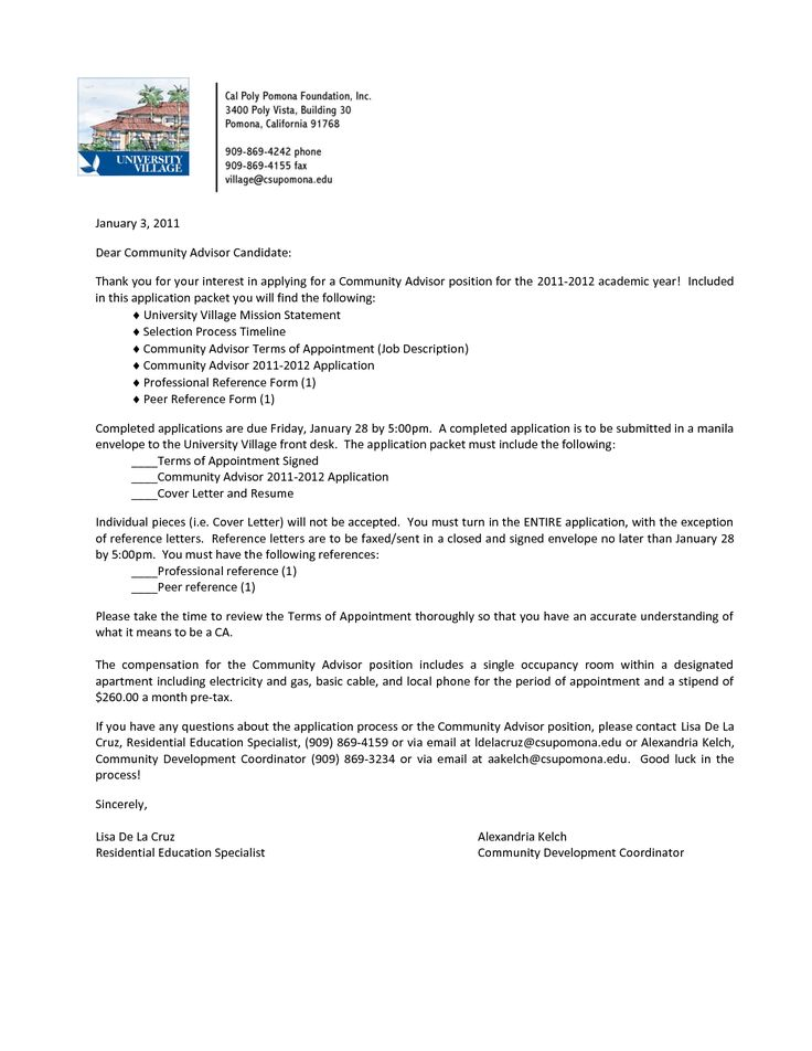 Cover Letter Examples For Paraeducator -    wwwresumecareer - residential specialist sample resume