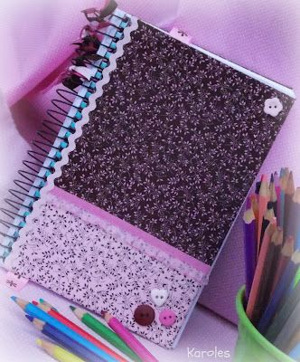 17 best images about forros cuadernos on pinterest - Como forrar un mueble con tela ...