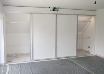Epic Ein Schlafzimmer mit steiler Dachschr ge Und daf r einen begehbaren Schrank zu planen der sich einf gt und auch ein neues Wohngef hl