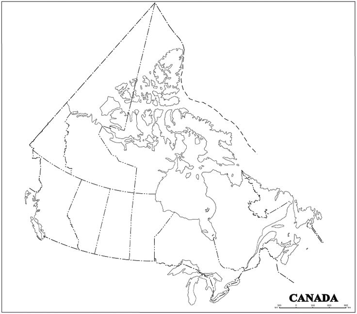Canadian map without labels the 25 best information about canada ideas on pinterest montana sciox Image collections