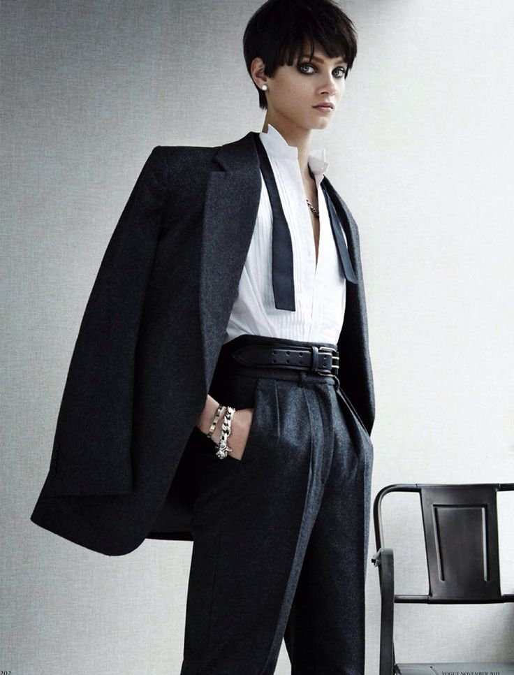 17 Best Images About Androginas Photoshoot On Pinterest Suits Doutzen Kroes And Androgynous Style