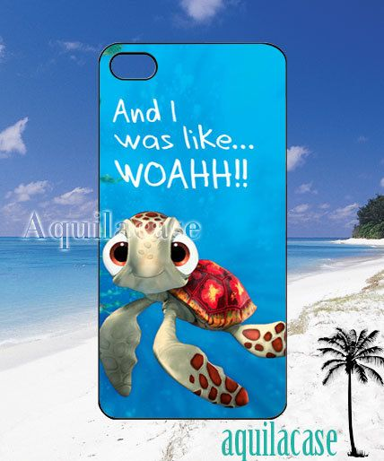 Squirt finding nemo quotes  iPhone 4/4s/5 Case  by AquilaCase, $15.00