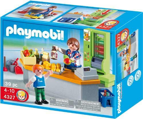 Playmobil School Set School Cafeteria