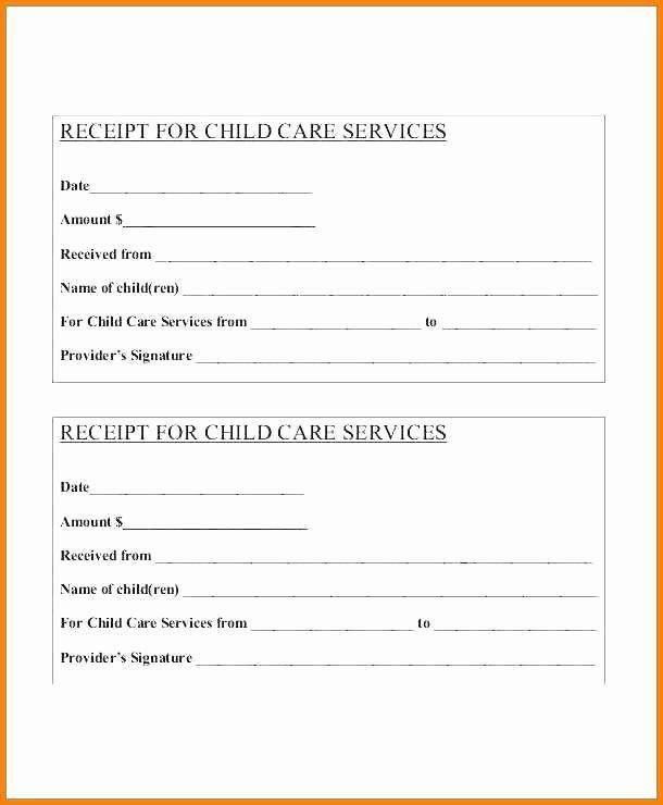 Child Care Receipt Template Fresh 13 Child Care Receipt Template Receipt Template Free Receipt Template Templates