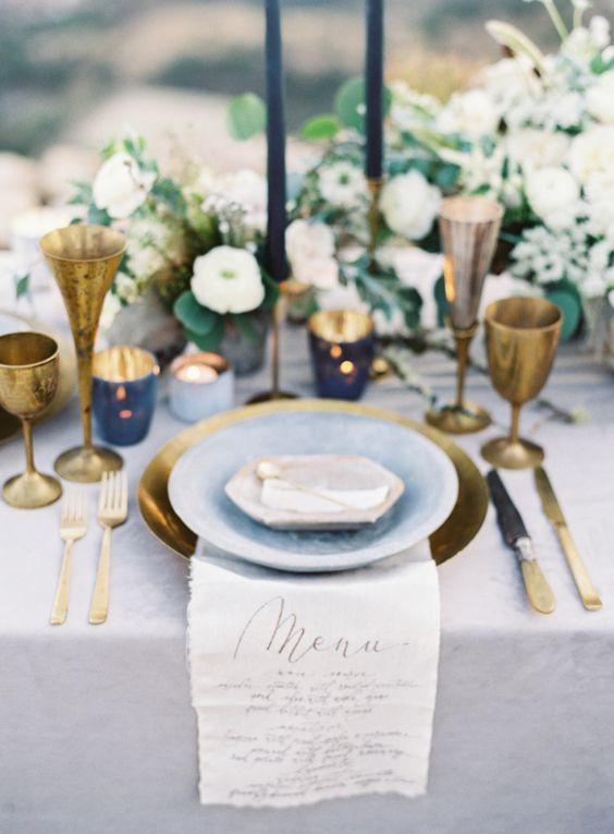 Top 20 Classic Romantic Dusty Blue Wedding Decor Ideas ...