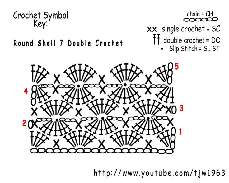 1000 Images About Crochet Stiches On Pinterest Waffles
