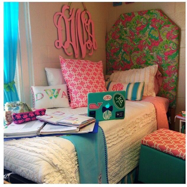 Colorful Dorm Room: 17 Best Images About College Dorm On Pinterest
