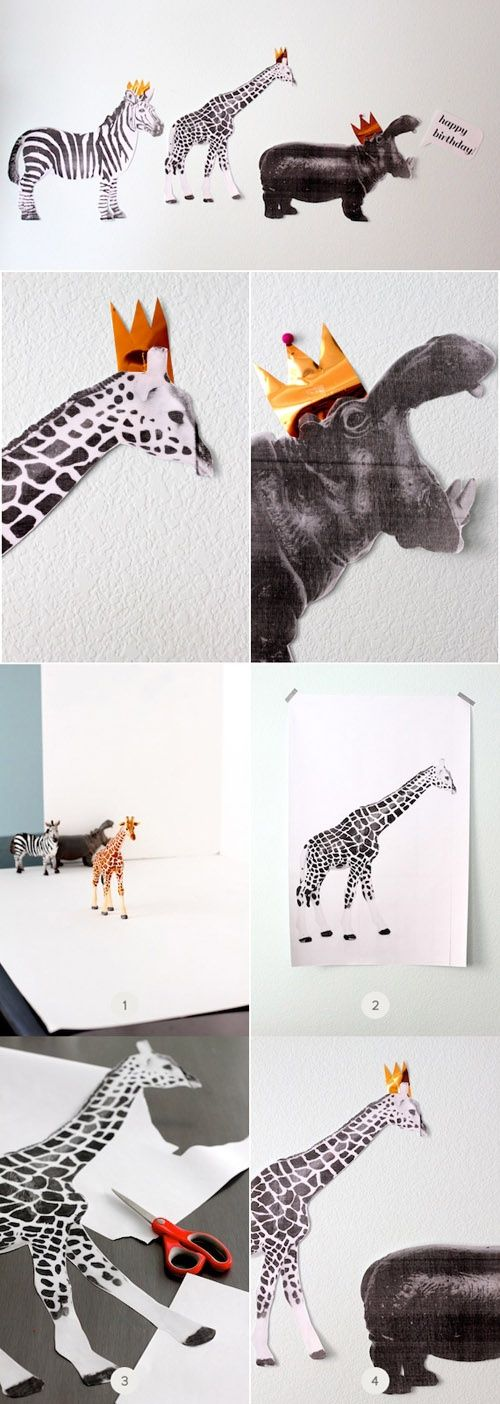 DIY Tutorial: Animal Parade Party Decorations