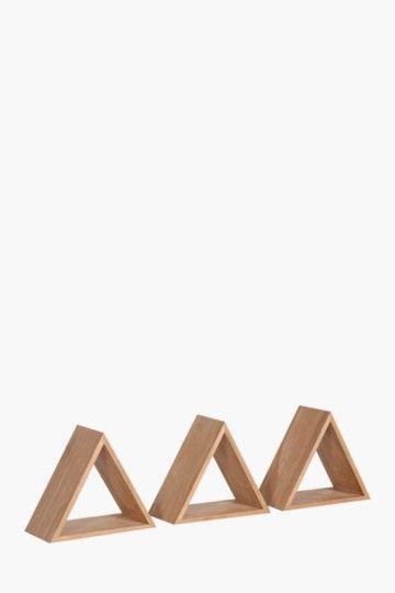 Nested Triangle Shelves