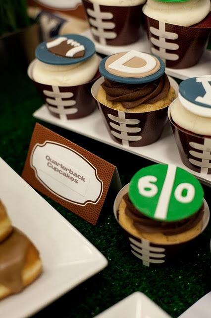 Quarterback Cupcakes | Quack Attack | Pinterest | Tailgate ...