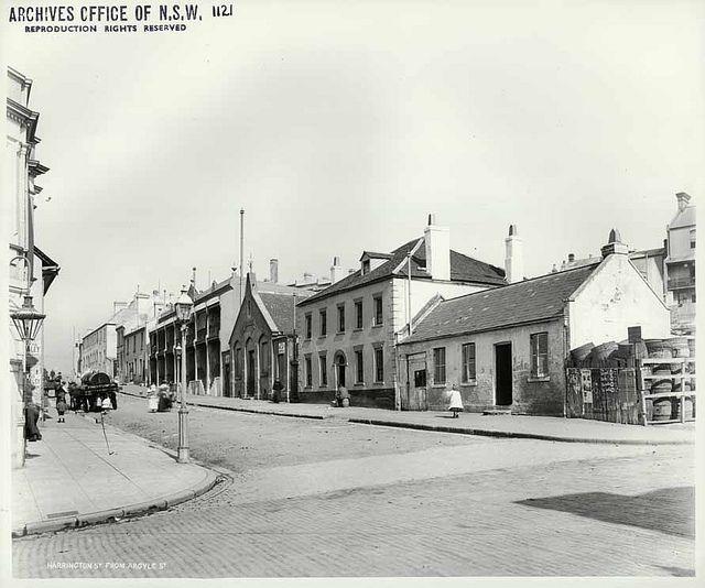 Harrington Street, The Rocks by State Records NSW, via Flickr