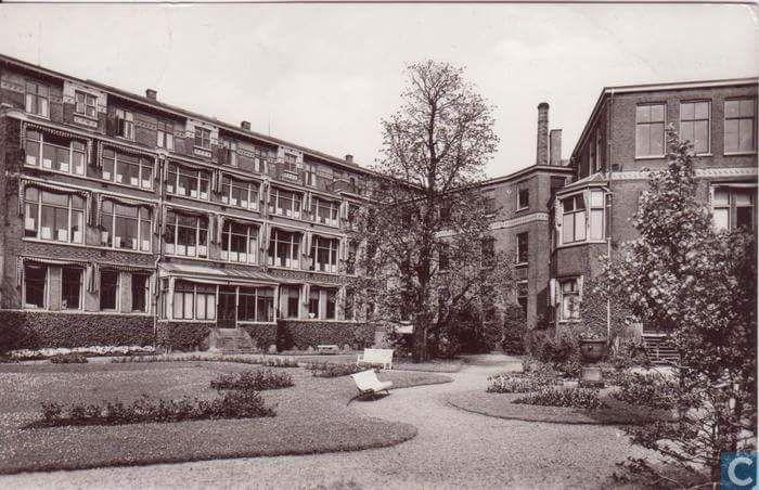 De Binnenterrein van de Eudokia Ziekenhuis