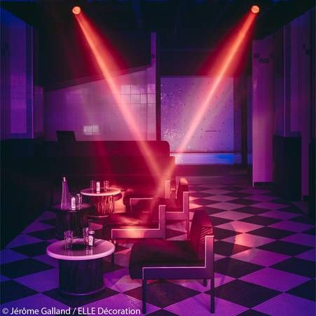 L'ancienne boîte de nuit les Bains-Douches transformée en hôtel de luxe – Elle Décoration