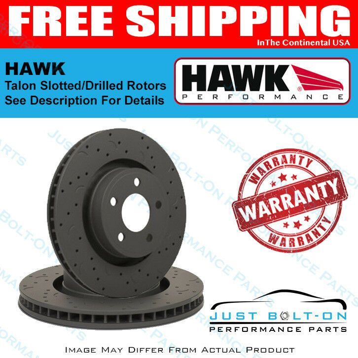 Details About Hawk Talon Rotors Slotted Drilled Vehicle Fitment See Description Htc4280 Ceramic Brake Pads Slot Performance Parts
