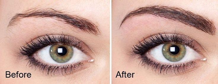Résultats de recherche d'images pour «maquillage permanent sourcils»