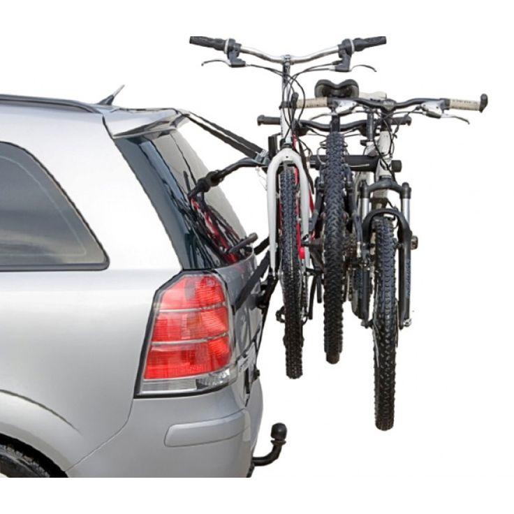 Se adapta a todo tipo de coches de tres o cinco puertas. Deja libre la bola de tracción para arrastrar un remolque o caravana mientras transporta dos bicicletas. De fácil y rápida instalación. http://trailcenter.es/portabicicletas/portabicicletas-easy.html #portabiclcietas #trailcenter