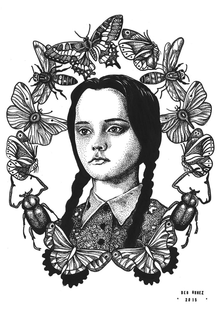wednesday addams tattoo - Bing Images