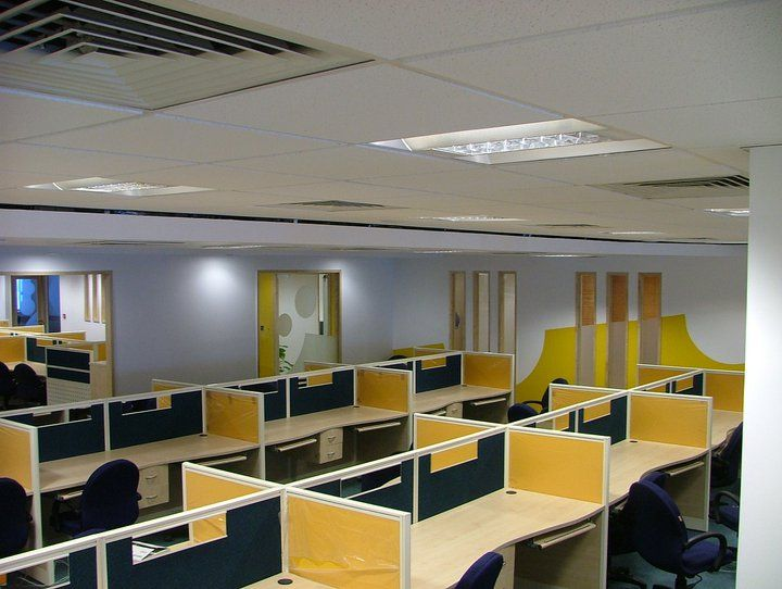 corporate office interior. work station area in office modern interior design delhiindia pinterest stations corporate