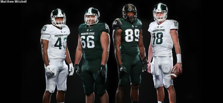 Michigan State Football Updates Nike Uniform Design - Michigan State Official Athletic Site