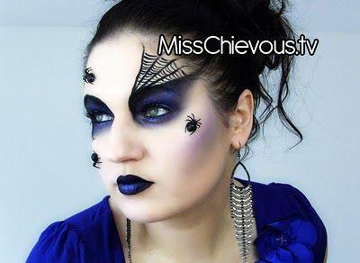 Spider queen halloween makeup tutorial