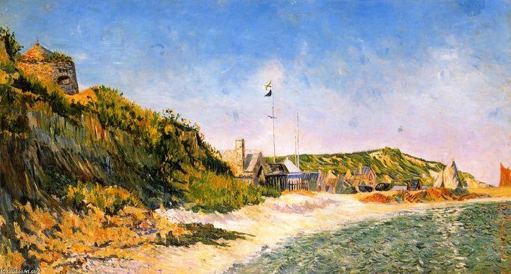 Port en Bessin, the Beach, Oil On Canvas by Paul Signac (1863-1935, France)