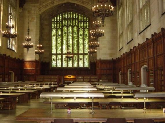 США, Мичиган - University of Michigan (Old) Law Library