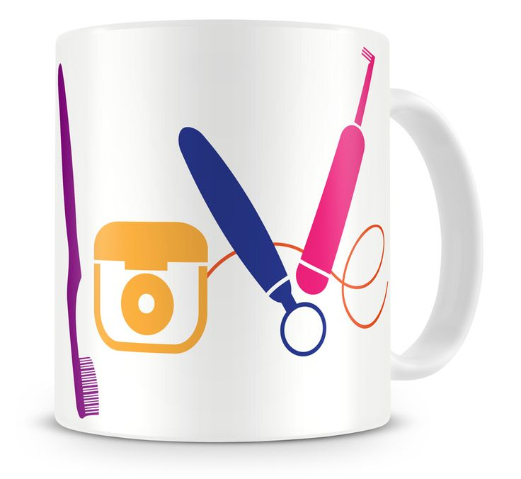 LOVE Dentistry Dental Tools - Mug