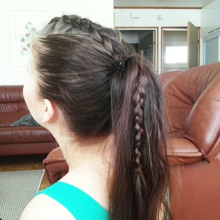 #ponytail #braid