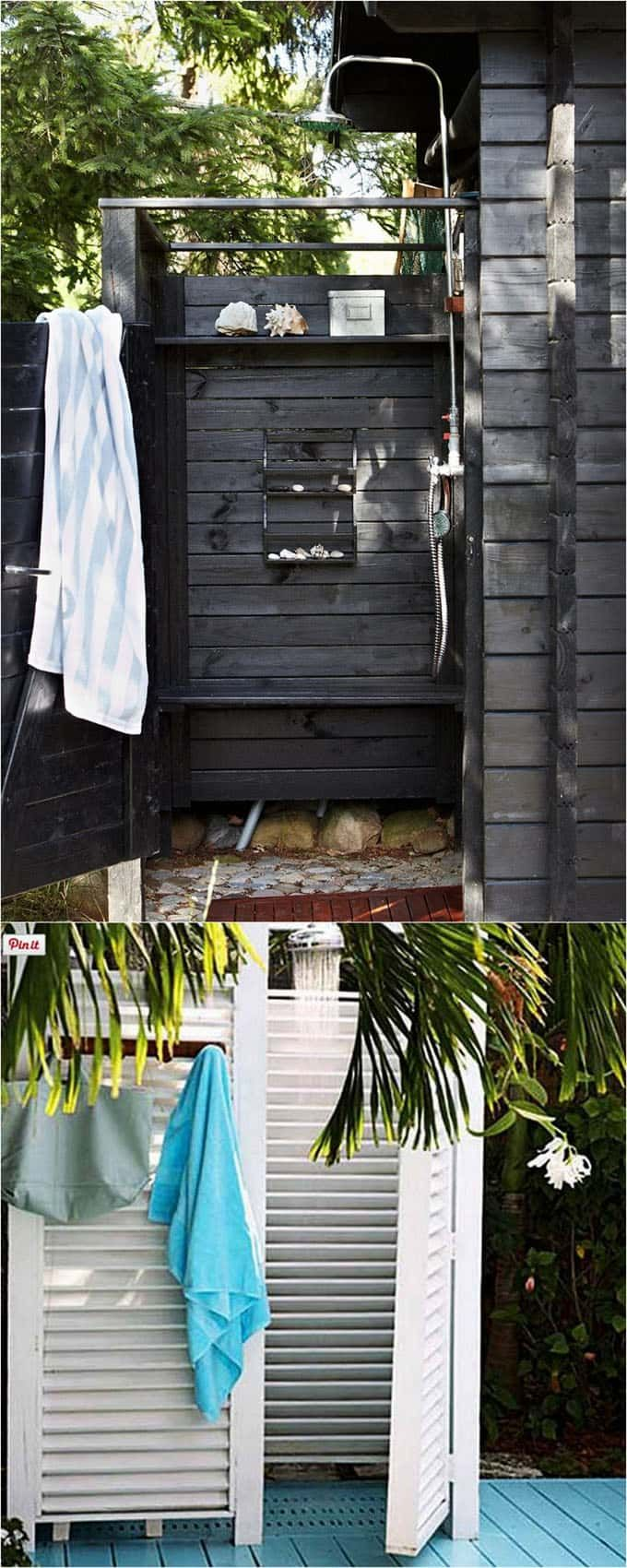 best 25 outdoor shower fixtures ideas on pinterest. Black Bedroom Furniture Sets. Home Design Ideas