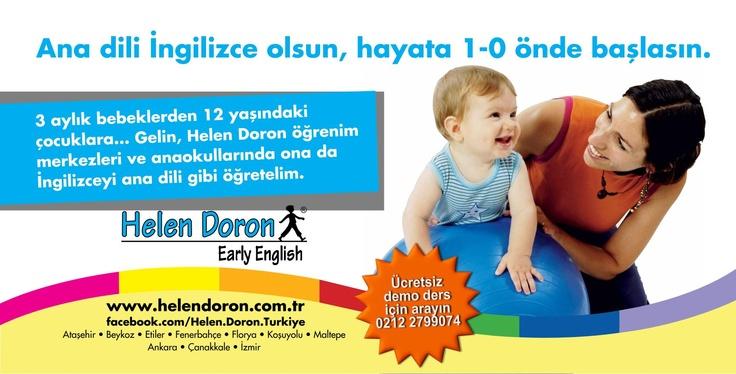 Helen Doron Türkiye sizi demoderslere bekliyor...