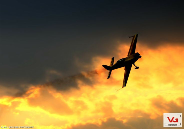 Airplane on Sunset by Vali GRECEANU on 500px