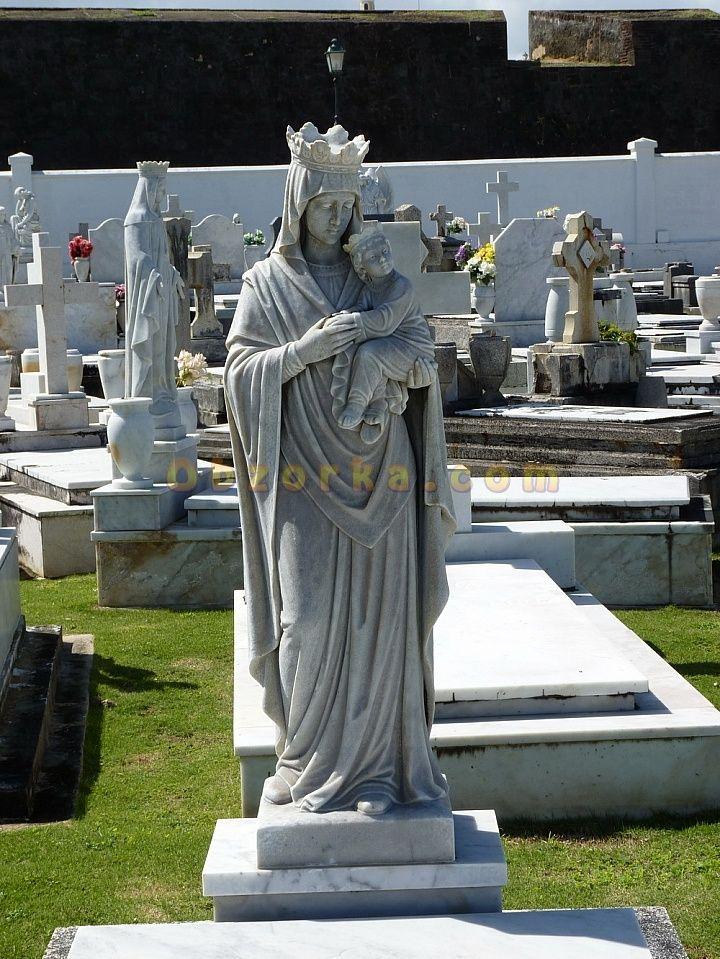 Сан Хуан - самое красивое кладбище