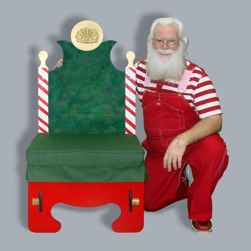 17 Best Santa Chairs Images On Pinterest Christmas