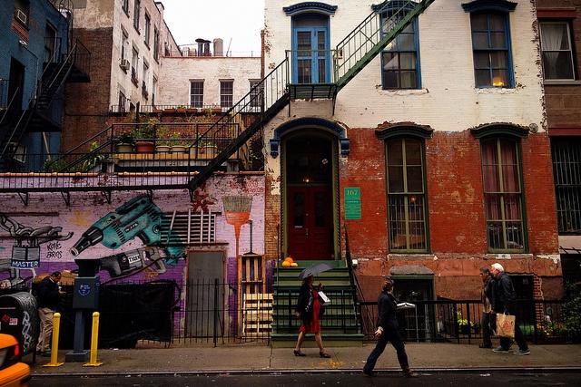 Chelsea sidewalk by Amy Feldtmann, via Flickr