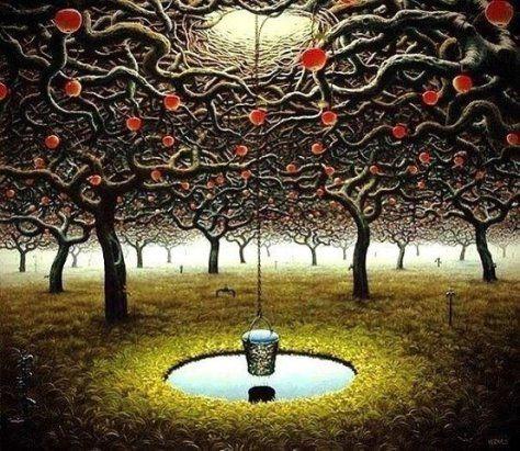 Не тряси зеленую яблоню – когда яблоко созреет, оно упадет само. Все происходит так, как должно быть и в тот момент, когда это нужно