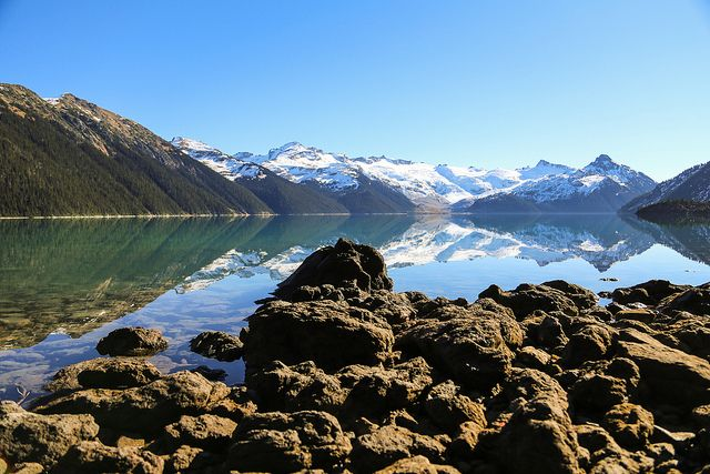 Garibaldi Lake - very nice view. Would love to be there this summer!